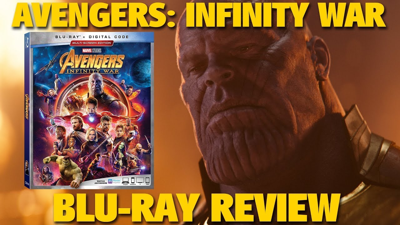 """Review: """"Avengers: Infinity War"""" Multi-Screen Edition Blu-ray"""