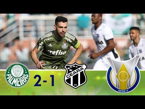 Melhores momentos - Palmeiras 2 x 1 Ceará - Campeonato Brasileiro (21/10/2018)