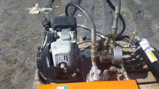 UNITE HYDRAULIQUE MOTEUR HONDA-HONDA MOTOR HYDRAULIC UNIT