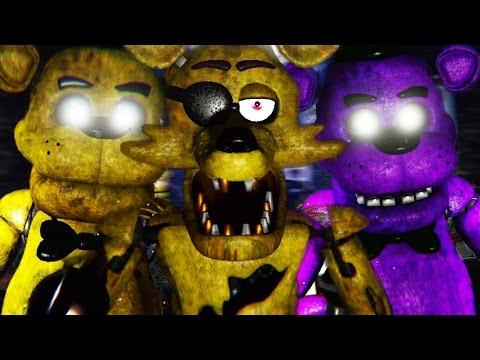 SECRET GOLDEN AND SHADOW ANIMATRONICS | Five Nights at Freddys 3D (FREE ROAM Five Nights at Freddys)