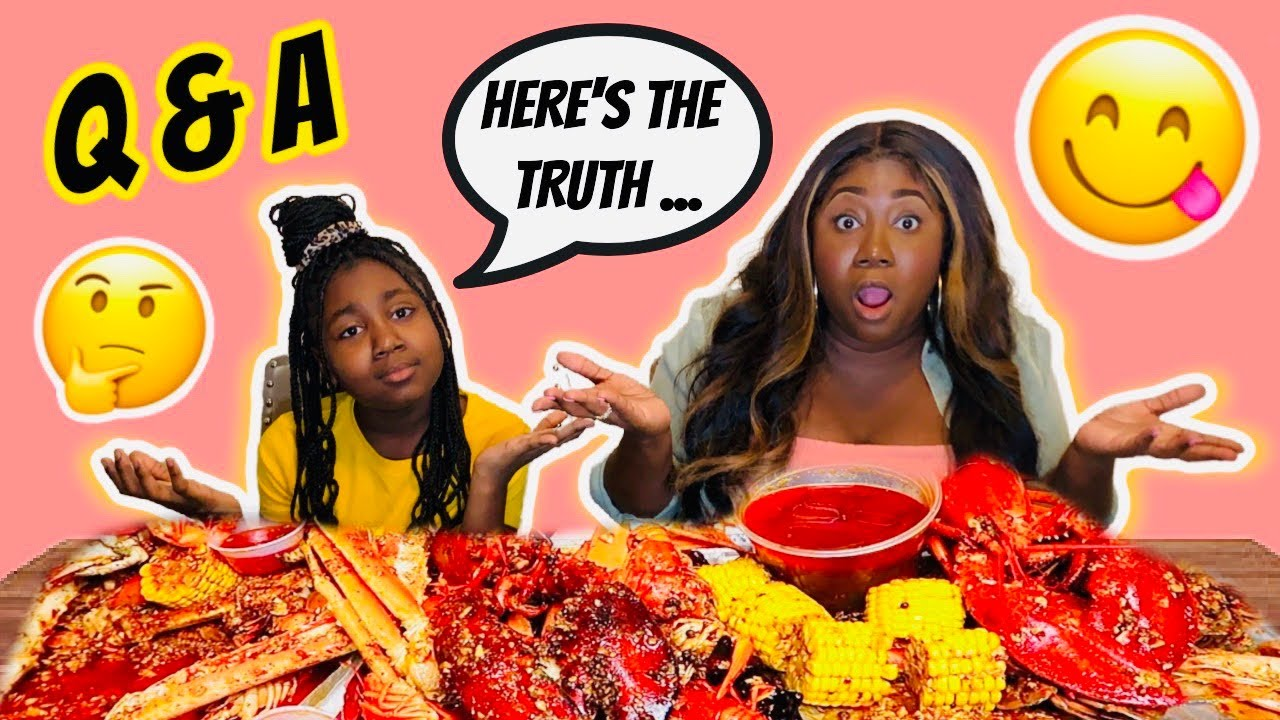 WHY I'M NOT WITH KARISSA'S DAD ANYMORE (THE TRUTH)....Q&A SEAFOOD MUKBANG