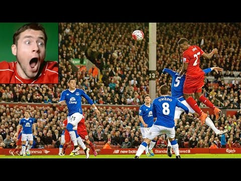 LIVERPOOL 4-0 EVERTON CRAZY FANZONE LIVE REACTIONS TO GOALS - EPIC GAME!!