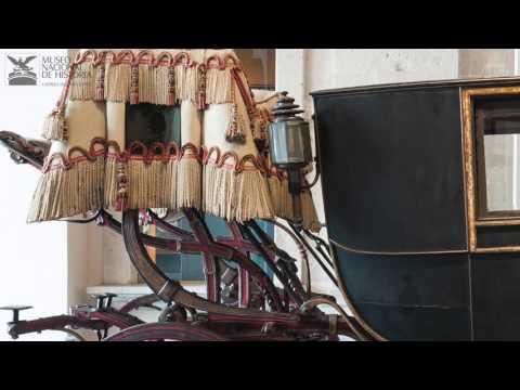 Los carruajes del Museo Nacional de Historia, parte 1