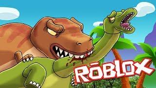 Roblox - T-REX attacchi innocente dinosauri - Dinosauri Simulator! (Roblox Jurassic Park)