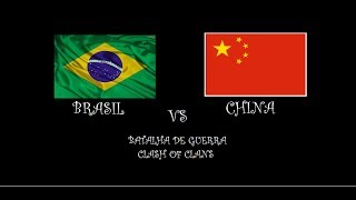 GUERRA CONTRA OS CHINAS - CLASH OF CLANS