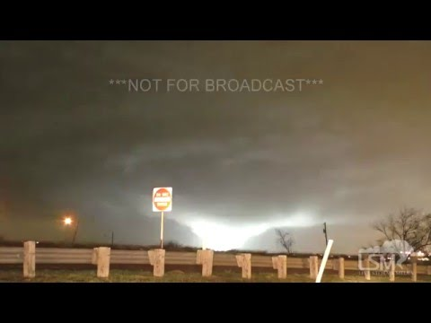 12-26-15 Deadly Rowlett, Texas Wedge Tornado