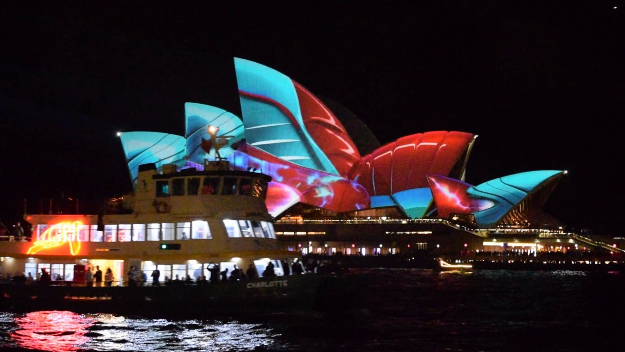 Vivid 2017 Sydney Opera House HD  1080p Audio Creatures