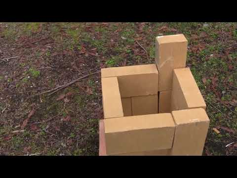 How to make a metal melting furnace from firebricks!
