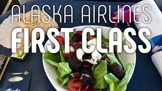 Flying First Class on Alaska Airlines from Portland to Honolulu, Hawaii