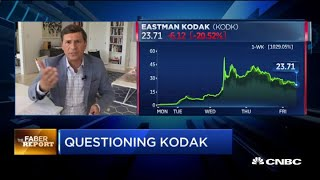 Kodak Rides Wild Week Of Trading After Receiving $765m Government Loan To Produce Drug Chemicals
