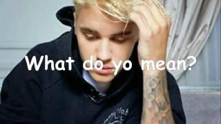 Video Lirik Lagu What Do You Mean Justin Bieber