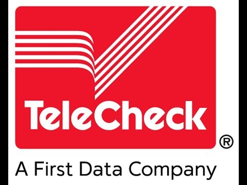 TELECHECK Account Verification...what you are NOT being told!