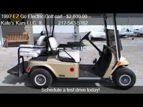 1997 EZ Go Electric Golf Cart Street Legal For Sale In Arthu