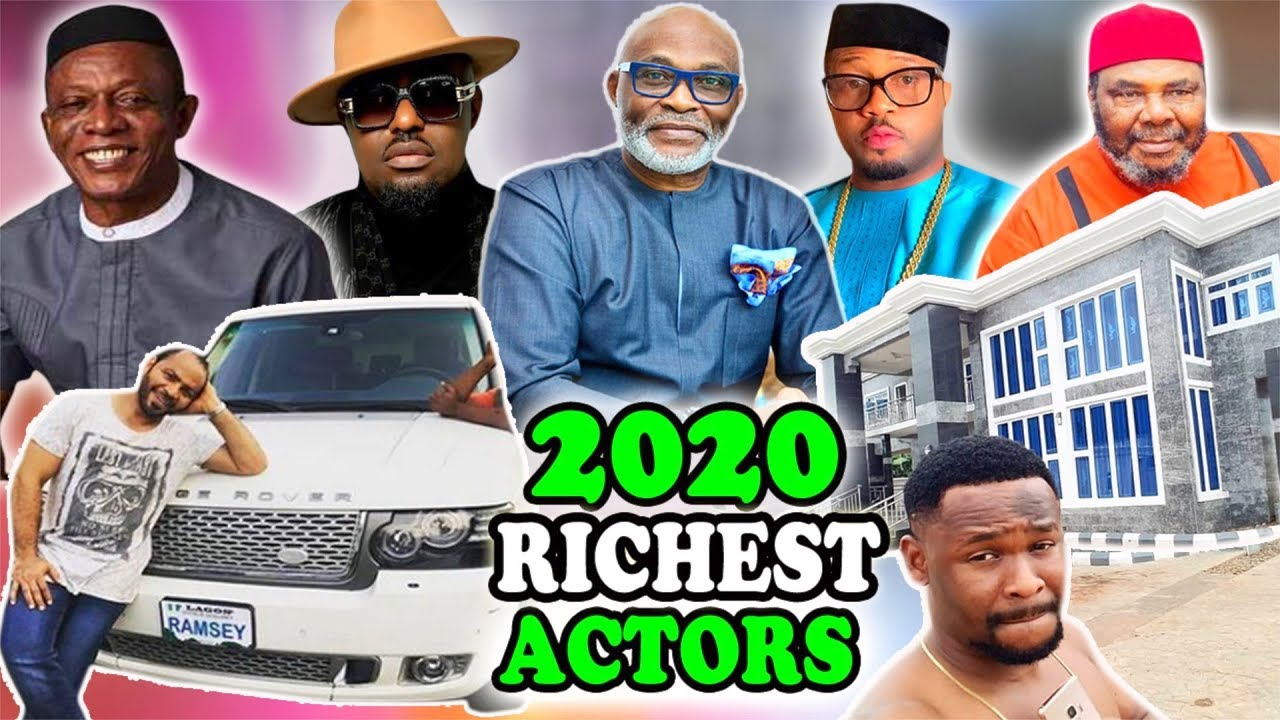 Download Top 10 Richest Actors In Nigeria 2020 & Net Worth