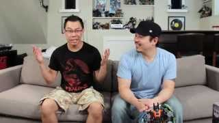 first look at fansproject columpio at tfcon 2014 a3u review season 4 ep 7