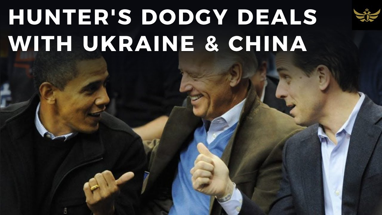 "Hunter Biden's DODGY deals with Ukraine & China created ""counterintelligence & extortio"