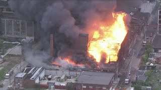 Multi-Alarm Fire Breaks Out At North Philadelphia Warehouse