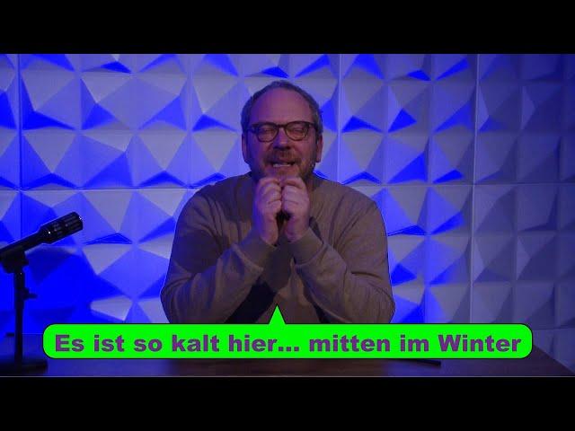Nonsenf 06/21: Kalt ist 'worrn in Deutschland!