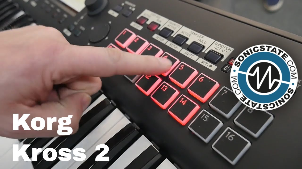Synthfest 2017: Korg Kross 2 Feature packed