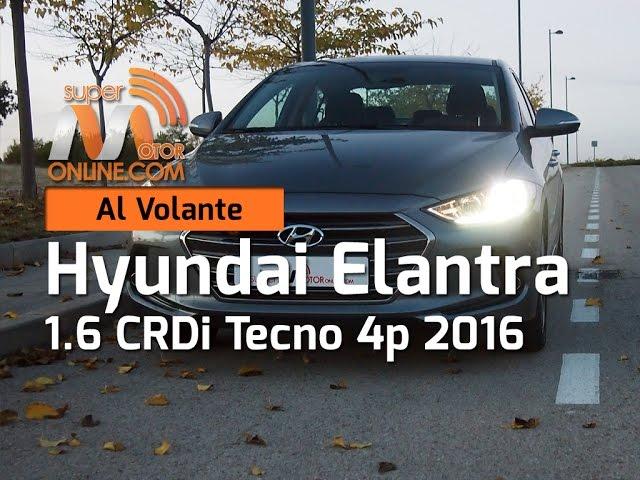 Hyundai Elantra 2016 / Al volante / Prueba dinámica / Review / Supermotoronline.com