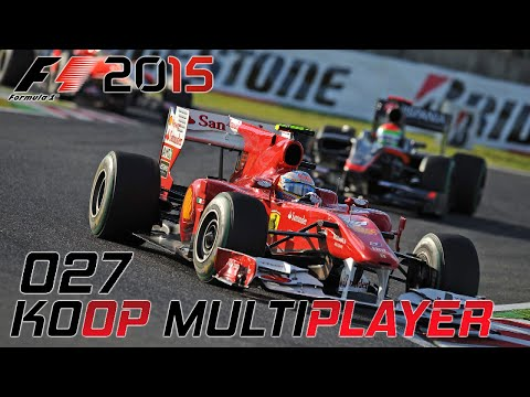 F1 2015 KOOP MULTIPLAYER | Japan 1/2