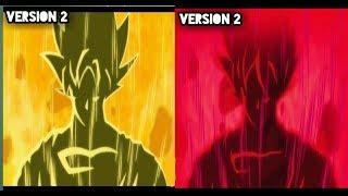 dragon ball super opening 2 limit break x survivor  comparación [ freezer versión VS super versión]