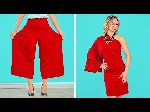Fashion Hacks And Clothes Diy Tricks Smart Tips For Girls By 123 Go Youtube