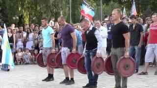 Динамит-шоу в честь дня города Донецка 29 08 2015