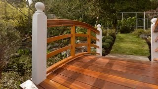 Woodworking, Curved Handrails, Samurai Carpenter