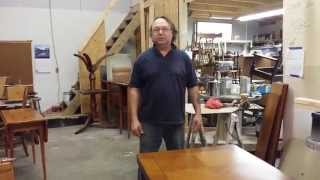 Refinishing A Walnut Card Table Timeless Arts Refinishing