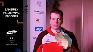 Markus Salcher | Alpenhaus | Samsung Paralympic Blogger | PyeongChang 2018