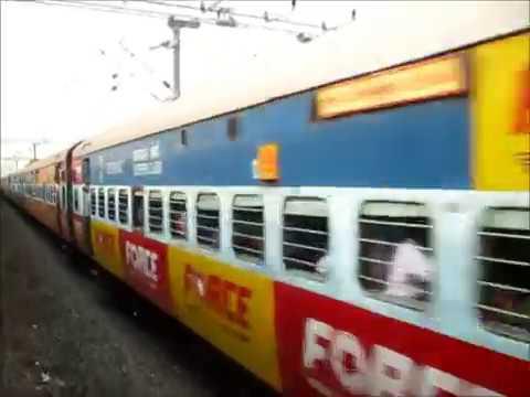 Train Journey from Chennai to Vijayawada in BNC-KYQ Humsafar Express
