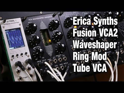 Erica Synths Fusion VCA2 Waveshaper, Ring Modulator and VCA