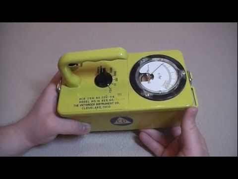 Geiger Counter - The Civil Defense CDV-715 - High Dose Radiation Detection Unit