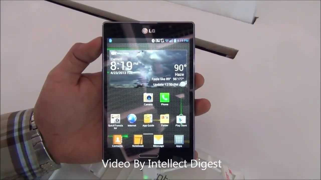 Lg optimus vu ii f200 full phone specifications - Lg Optimus Vu Ii F200 Review Features Specifications Build Quality Display And Features Youtube
