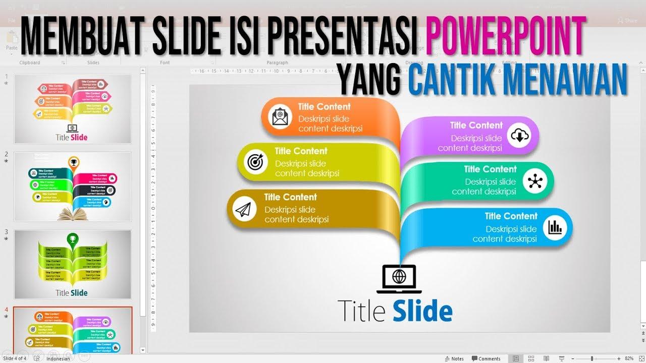 Cara Membuat Slide Isi Presentasi Powerpoint Yang Cantik