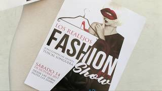 """Presentación de """"Los Realejos Fashion show 2017"""""""