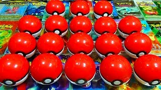 ENORME Ouverture de 18 POKEBALL SURPRISE POKEMON ! Des gommes pokémon ! BIG OPENING !