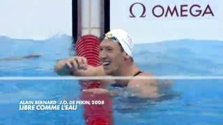 Jeux Olympiques 2008   Alain Bernard 100m NL freestyle