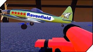 Ravenfield Beta 6 - Steam! ЗАХВАТ АЭРОДРОМА.СЕКРЕТНОЕ ОРУЖИЕ