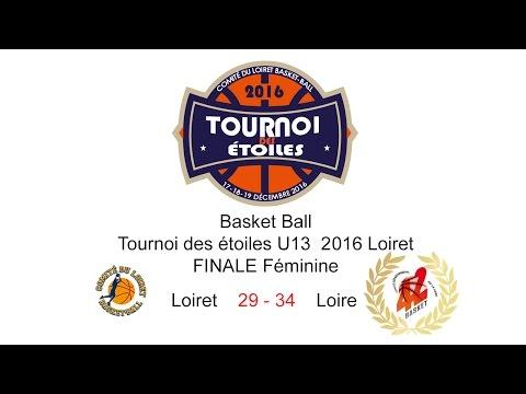 9-Basket TDE 2016 U13F FINALE Féminine Loiret 29 - 34 Loire