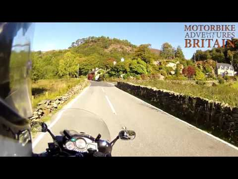 North & Mid Wales MotorBike Tour Adventures Of Britain Tour 3 Stage 1