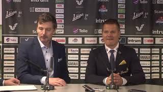 SaiPa–KalPa -lehdistötilaisuus 13.11.2018