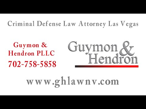 Criminal Defense Law Attorney Las Vegas