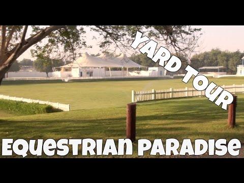Dubai Yard Tour Vlog (Equestrian Paradise)