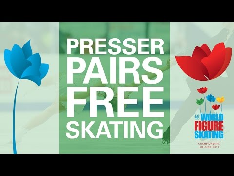 Pairs Free Skating Press Conference - Helsinki