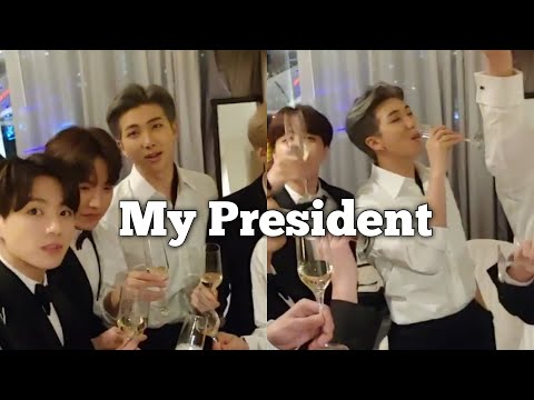 Kim Namjoon is MY president