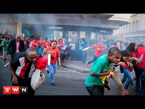 #SONA2016:  Anarchy on the streets of Cape Town