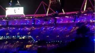 Rowan's Chariots of Fire at London2012 Olympic Opening Ceremony.