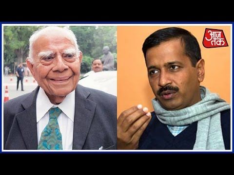 Kejriwal Accused Of Using Taxpayers Money To Pay Jethmalani's Fee; Watch AAP And BJP Debate
